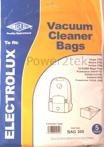 20 x E53 Vacuum Bags for Electrolux Z4431 Z4431S Z4432 Hoover NEW