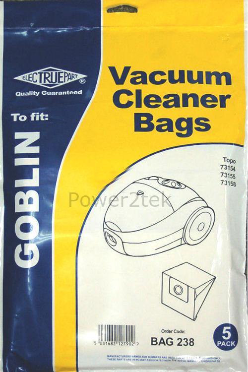 15 x Type 00 Vacuum Cleaner Bags for Swan SCH2000 Hoover UK