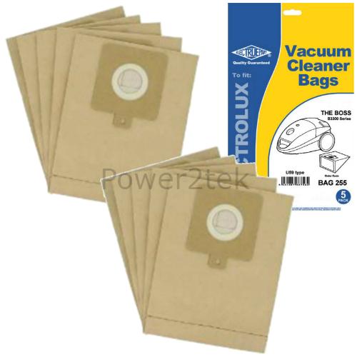 10 x GR51S U59 poussière sacs pour aeg smart 3306.1 smart 450 smart 460 vide