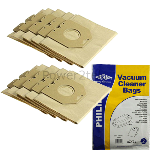 10 x HR6938 oslo sacs aspirateur pour philips TC412 TC412A TC415 hoover uk