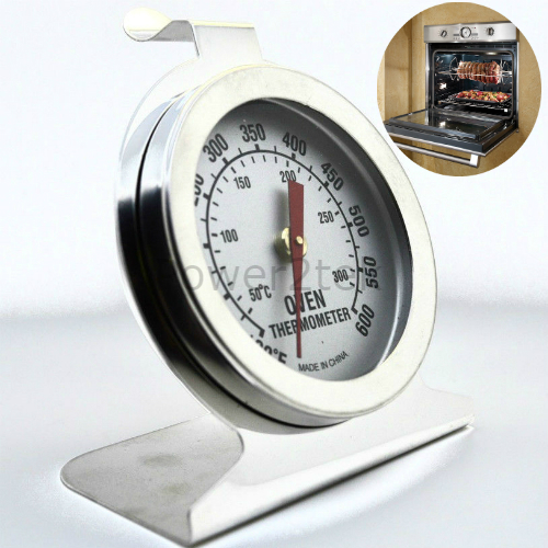 Stainless Steel Oven Cooker Thermometer Temperature Gauge 0ºC-300ºC Quality Y4V9