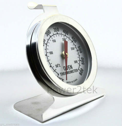 Smeg Oven Thermometer Stainless Steel Oven Cooker Temperature Agas /& Rayburns