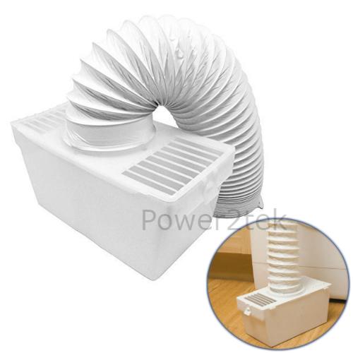 Condenseur vent kit boîte et tuyau pour creda 37750 sèche-linge montage mural neuf
