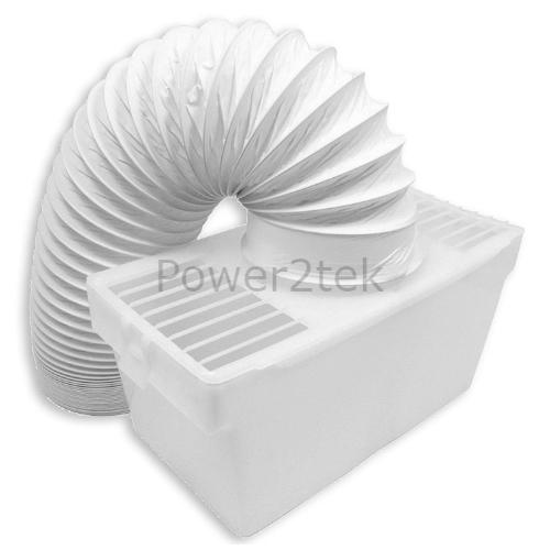 Condenseur vent kit boîte et tuyau pour electra universel sèche-linge montage mural