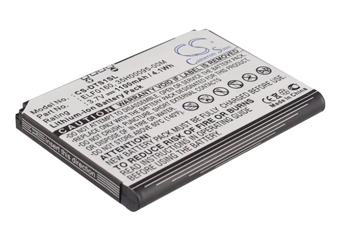 100% Wahr 3.7v Battery For Sprint Ffea175b009951, Elf0160, 35h00095-00m Li-ion New
