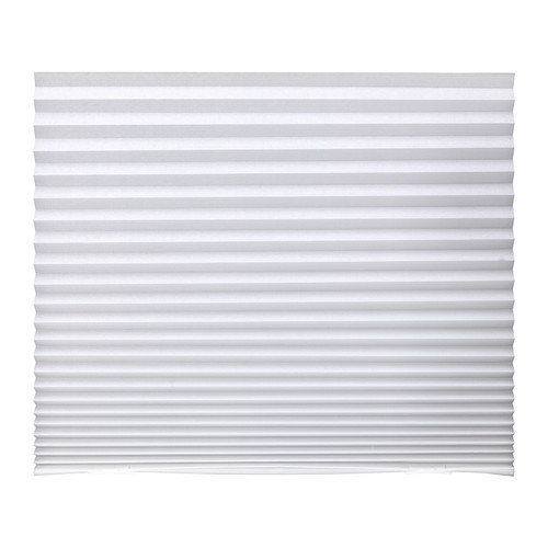 Ikea Schottis Pleated Blind White Window Covers Easy