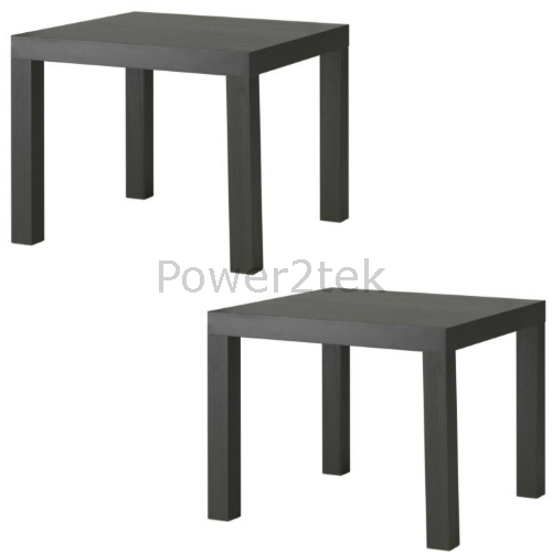 Ikea Lack Coffee Table Legs: 2 X IKEA LACK Small Square Side Coffee Table End Home