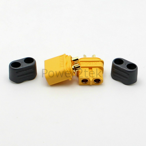 6-pair Amass XT60 Male /& Female Connectors//Plugs Insulated Caps for RC Car UK